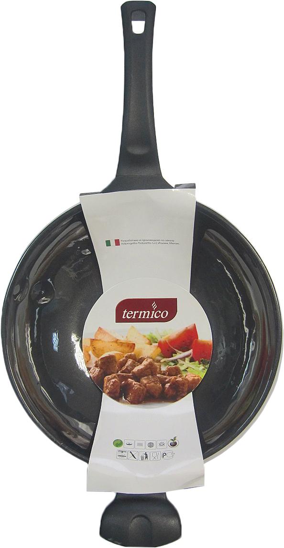Сковорода-вок Termico, с антипригарным покрытием. Диаметр 30 см вок oursson korea wok с антипригарным покрытием диаметр 26 см