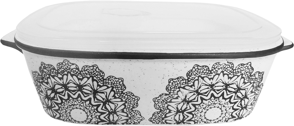Форма для запекания Termico с крышкой, 24,5 х 20 х 7,5 см ваза mughal l 20 х 20 х 30 см