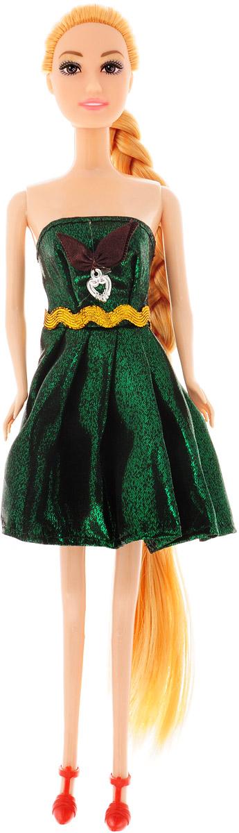 Junfa Toys Кукла Anita Fashionistas цвет платья зеленый металлик