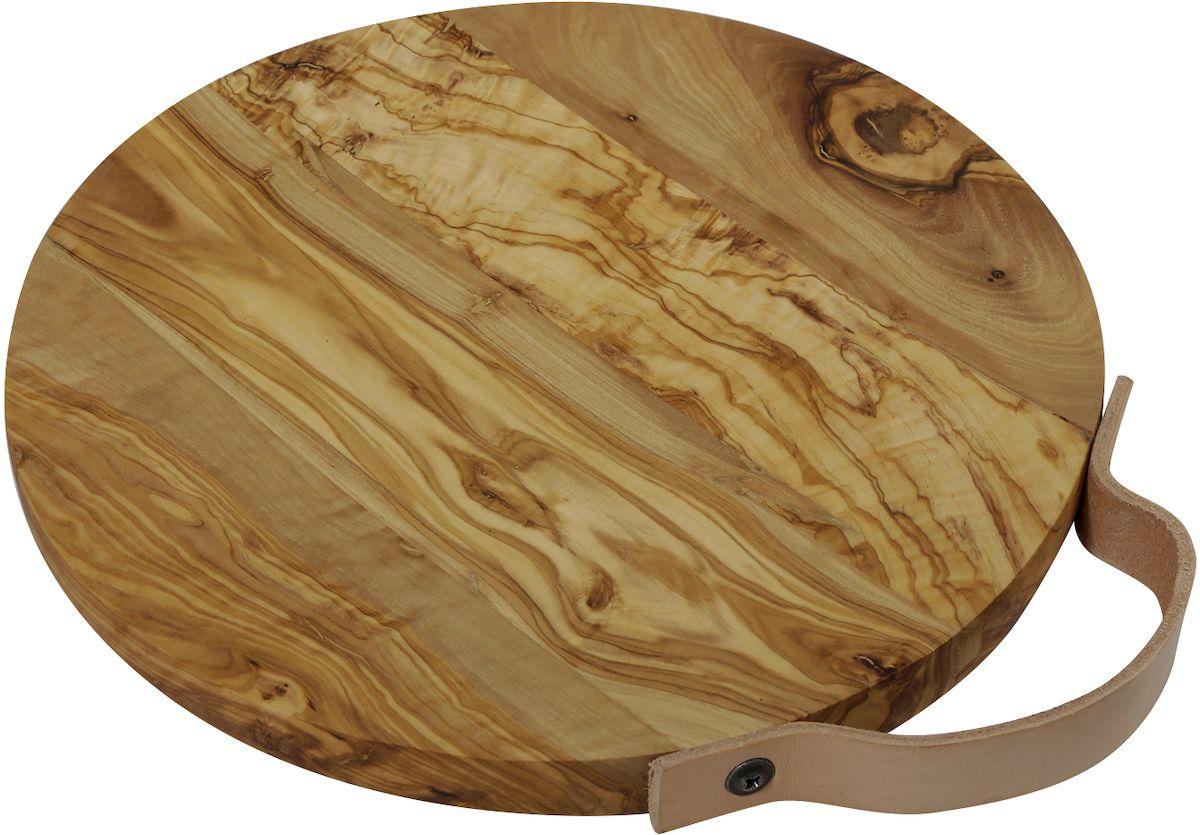 Доска разделочная Le Palais, с ручкой, 25 х 25 х 0,7 см17051Доска разделочная Le Palais из оливкового дерева прежде всего привлекает своим красивейшим природным рисунком волокон. Кроме того, древесина оливкового дерева обладает бактерицидными свойствами - многие бактерии, такие как, например, сальмонелла и листерия, гибнут на ней менее чем за 3 минуты. Структура оливкового дерева очень прочная и прекрасно поддается полировке, что позволяет создавать практичные и функциональные кухонные аксессуары. Изделия из оливкового дерева не теряют своего вида на протяжении долгих лет. Оливковое дерево устойчиво к запахам, на изделиях практически не остается пятен.