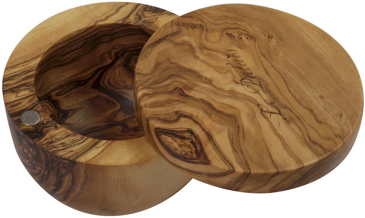 Банка с крышкой Le Palais, 9 х 6 см17062Изделия из оливкового дерева прежде всего привлекают своим красивейшим природным рисунком волокон. Кроме того, древесина оливкового дерева обладает бактерицидными свойствами - многие бактерии, такие как, например, сальмонелла и листерия, гибнут на ней менее чем за 3 минуты. Структура оливкового дерева очень прочная и прекрасно поддается полировке, что позволяет создавать практичные и функциональные кухонные аксессуары. Изделия из оливкового дерева не теряют своего вида на протяжении долгих лет. Оливковое дерево устойчиво к запахам, на изделиях практически не остается пятен.