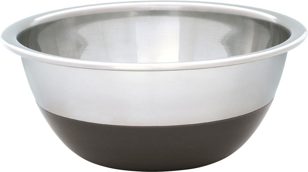 Миска Moha, цвет: серый металлик, 1,9 л65879Миска Moha выполнена из стали. Миска - одна из самых востребованных видов посуды на кухне. С ее помощью выполняются самые различные задачи: смешивают ингредиенты блюд, замешивают тесто, используют для хранения. Можно мыть в посудомоечной машине.