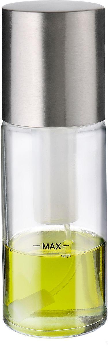Спрей для масла или уксуса Moha Spicy, цвет: серый металлик81003Спрей с распылителем для масла имеет ряд преимуществ. С помощью спрея вы можете заправить салаты, можно распылить на сковородку, что позволит использовать меньшее количество масла, позволит подготовить продукты для дальнейшей обработки. Имеет специальную помпу для прокачивания воздуха, что позволяет более эффективно распылить масло.