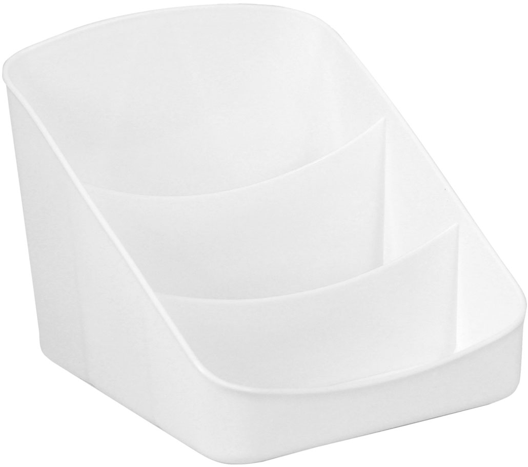 Органайзер для специй Idea, цвет: белый, 6 х 16 х 16 смМ 1247Любое блюдо сделает неповторимым оригинальное сочетание трав. Создать кулинарные шедевры хозяйке поможет органайзер для специй Idea. Он имеет три отделения разной высоты для пакетиков любого размера. Конструкция позволяет разглядеть все содержимое органайзера одновременно. На дне есть ребра для того, чтобы устойчиво разместить каждый пакетик специй.Размер: 6 х 16 х 16 см.