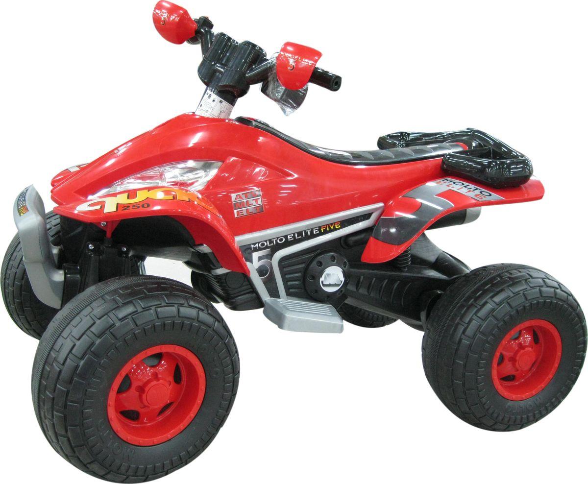 Полесье Электромобиль Квадроцикл Molto Elite 5 цвет красный