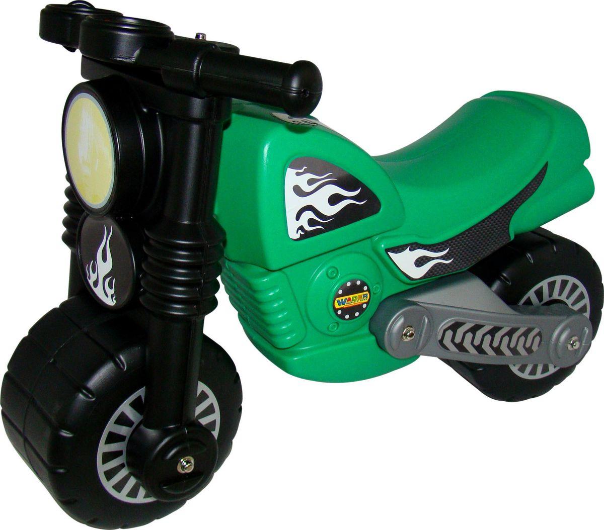 Полесье Каталка Моторбайк цвет зеленый какой мотоцикл до 60000рублей