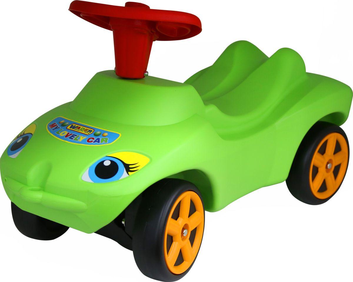 Полесье Каталка Мой любимый автомобиль цвет зеленый 44617