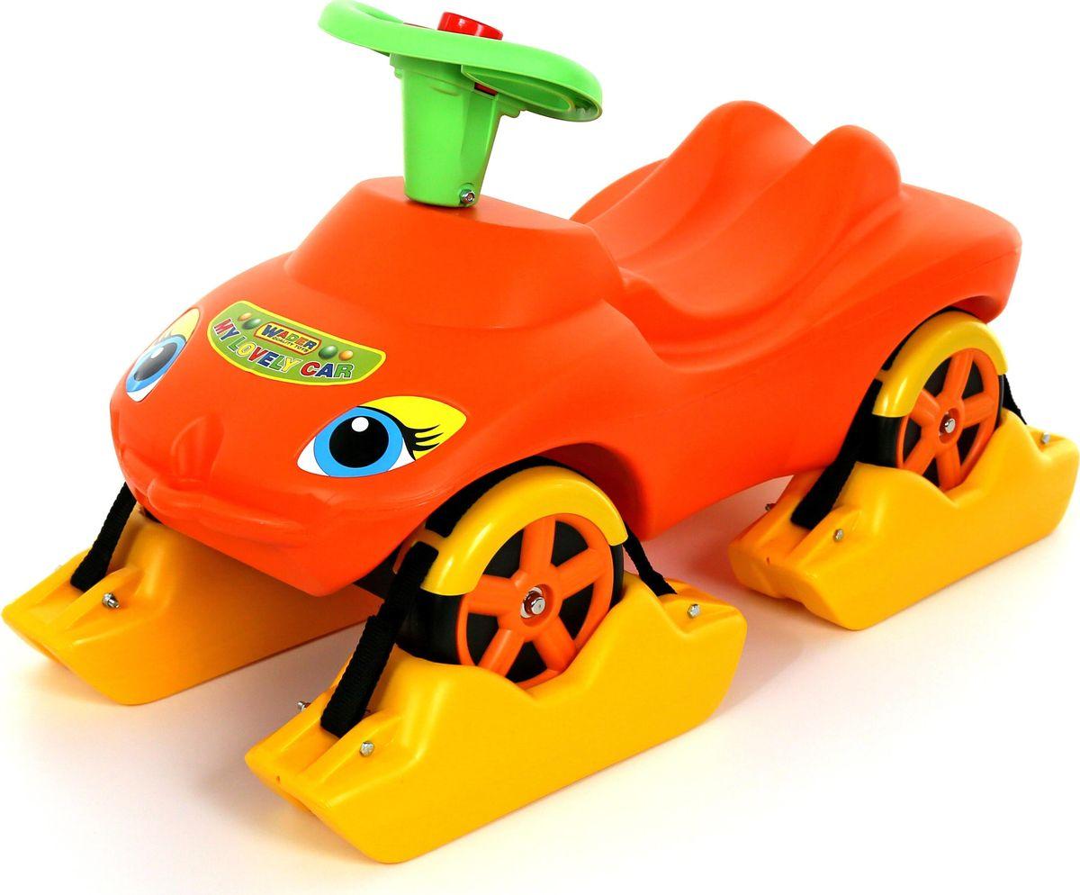 Полесье Каталка Мой любимый автомобиль цвет оранжевый 44631 полесье полесье каталка mig скутер