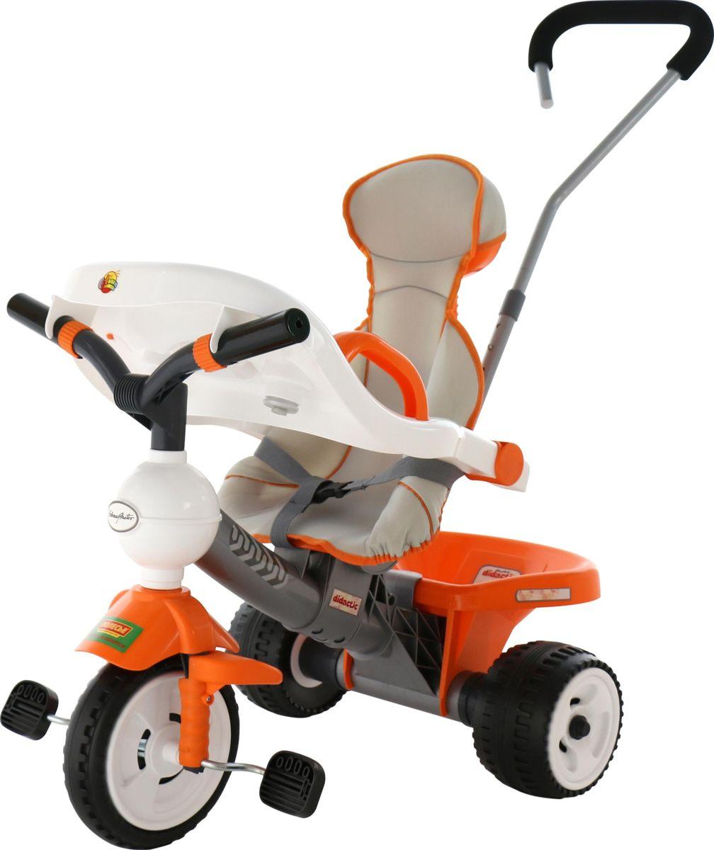 Полесье Велосипед трехколесный Дидактик 4655046550Полесье Велосипед трехколесный Дидактик с игровой панелью, ручкой, ремешком и чехлом