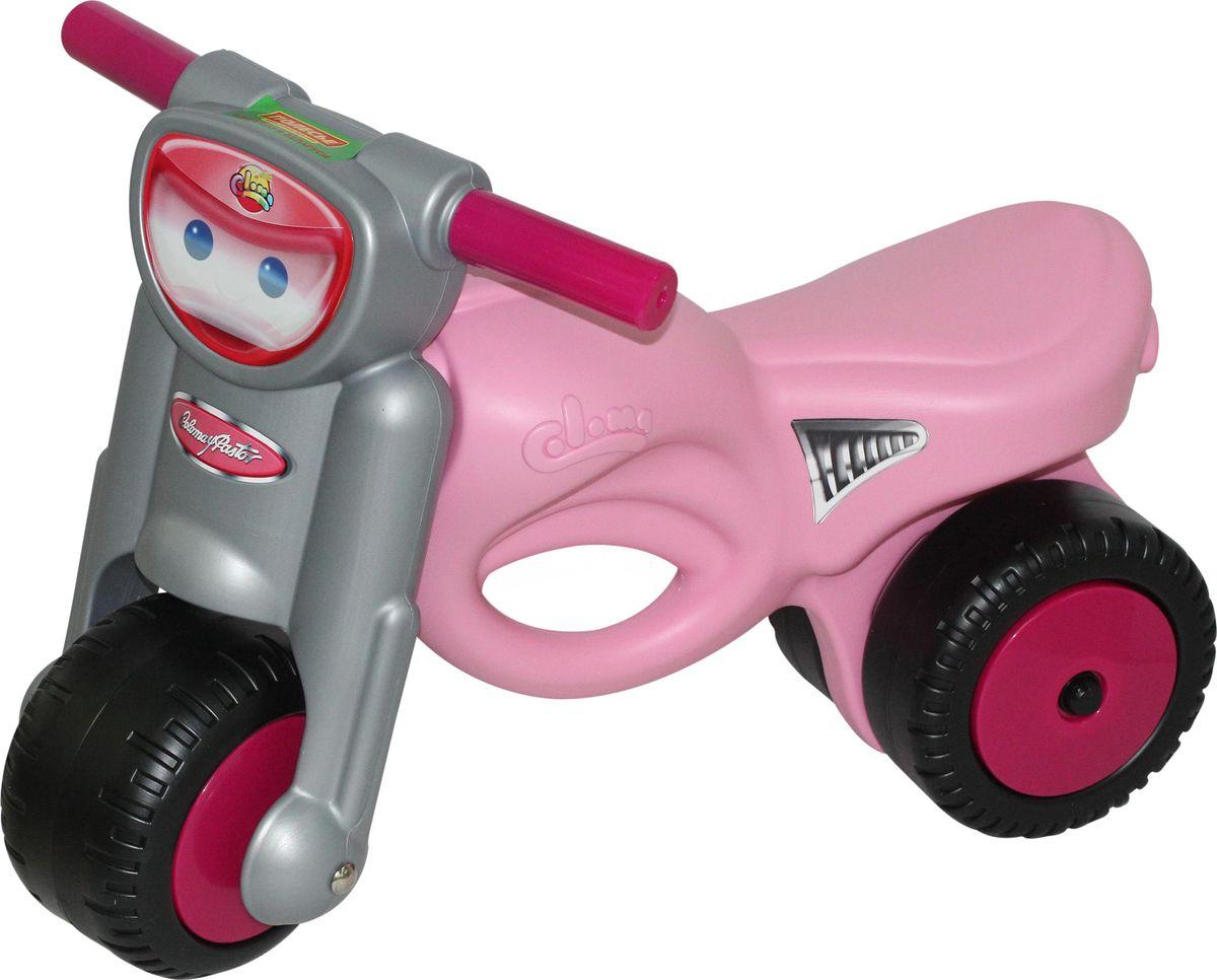 Полесье Каталка Мотоцикл Мини-мото цвет розовый полесье полесье каталка mig скутер