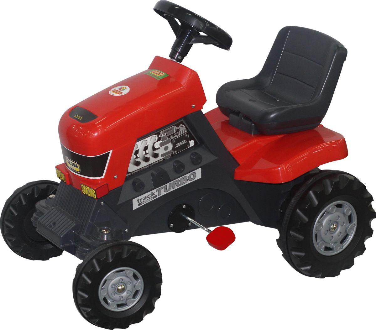 Полесье Каталка Трактор Turbo каталка альтернатива трактор м4942 blue