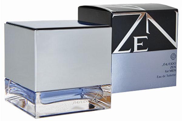 Shiseido Туалетная вода Zen Men, 100 мл7723Мускусные. Бергамот, корсиканский апельсин и груша, фиалка и рододендрон, мускус, лист пачули и кожа.