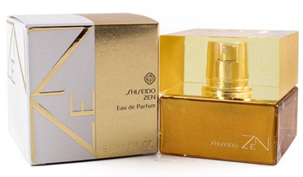 Shiseido Парфюмированная вода Zen Woman, 30 мл7732Цветочные, древесные, мускусные. Дубовый мох, ирис, роза, фиалка, бамбук, мускус, пачули, бергамот.