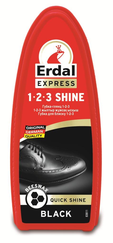 Губка-глянец для обуви Erdal, цвет: черный206073Губка-глянец Erdal с пчелиным воском в составе придаст обуви идеальный блеск без полировки. Подходит для всех видов кожи Характеристики:Цвет: черный. Производитель: Германия.