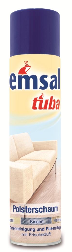 Пена для чистки мягкой мебели Tuba, 300 мл8601-2Пена Tuba быстро чистит все виды мягкой мебели без промокания ткани и предотвращает быстрое повторное загрязнение. Подходит для всех обивных тканей со стойкой краской (из натуральных и синтетических волокон), чехлов и обивки сидений в автомашине, и чехлов для пластмассовой мебели.Товар сертифицирован.Как выбрать качественную бытовую химию, безопасную для природы и людей. Статья OZON Гид