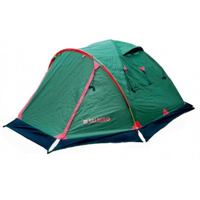 Палатка Talberg Malm Pro 3УТ-000051311Легкая двухслойная палатка Talberg Malm Pro 3 с большим тамбуром, алюминиевыми дугами и юбкой предназначена для пешего туризма и кемпинга.Внутренняя палатка выполнена из дышащего полиэстера, швы наружного тента проклеены.Вы несомненно оцените скорость, с которой может быть установлена эта палатка. Идеально подходит для трех туристов. Палатка упакована в сумку-чехол на застежке-молнии. Также прилагается инструкция по сборке палатки.Количество мест: 3.Размер палатки: 380 см х 220 см х 130 см.Спальная комната: 210 см х 210 см. Дуги: Alu 7001 8,5 мм.Материал внешнего тента: Polyester RipStop 190T/75D 4000 мм.Материал внутреннего тента: полиэстер.Материал дна: Polyester 195T/85D 7000 мм.Размер палатки в собранном виде: 58 см х 18 см х 18 см. Что взять с собой в поход?. Статья OZON Гид