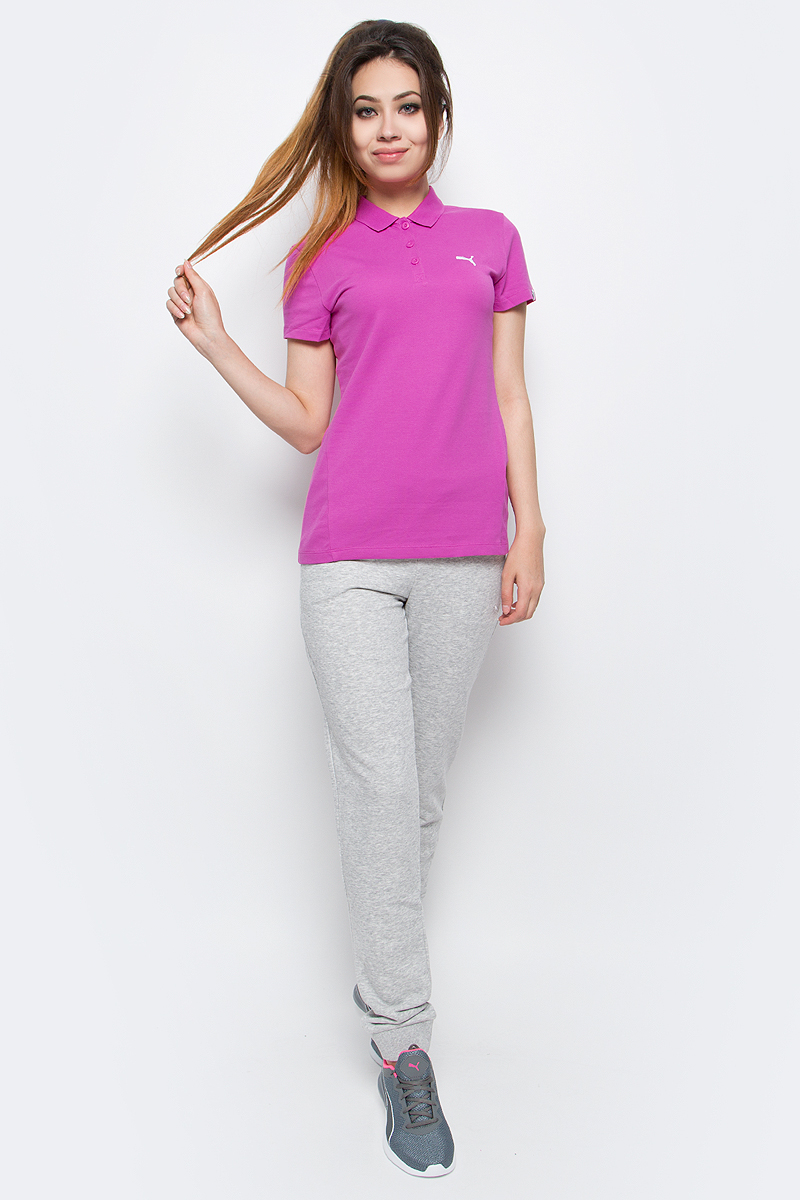 Брюки спортивные женские Puma ESS Sweat Pant TR W, цвет: серый. 83842804. Размер XL (48/50) брюки puma брюки bvb tr pant tapered w po