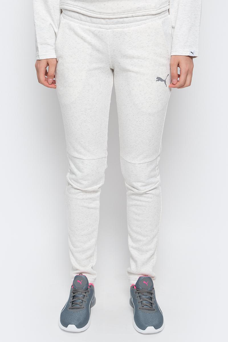 Брюки спортивные женские Puma Swagger Pants W, цвет: светло-бежевый. 590750_02. Размер XL (48/50)