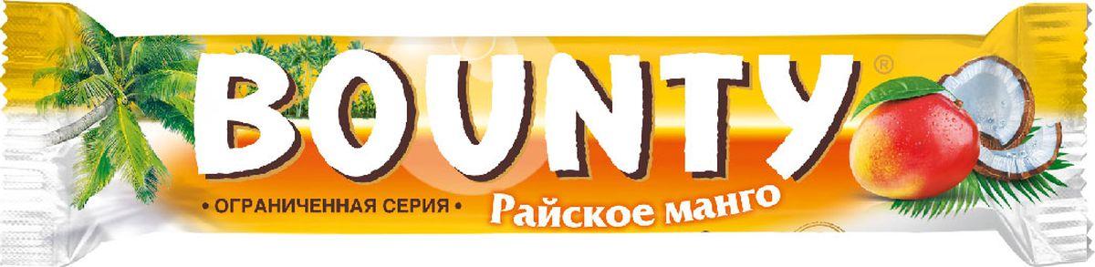 Bounty Mango шоколадный батончик, 52 г