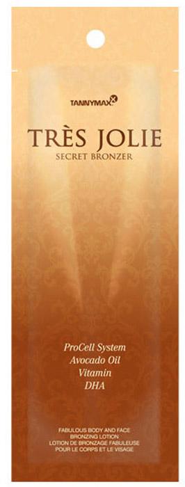 Tannymaxx Крем-ускоритель для загара Tres Jolie Secret Bronzer, с бронзатором двойного действия с инновационной формулой ProCell System, 15 мл2220Secret Bronzer поможет Вам обрести чудесный загар и позаботиться о Вашей коже. То, как Вы этого добьетесь, останется только Вашим секретом! В состав входит бронзатор двойного действия (карамель, ДГА), который придает коже красивый темный оттенок, одновременно ускоряя естественный загар кожи на солнце или в солярии. Ускоритель загара с премиум-уходом за кожей. Содержит инновационные формулы ProCell System и DerMoist Complex, а также витамины и масла, которые оздоравливают, эффективно увлажняют, защищают кожу и укрепляют кожный барьер. Ингредиенты гарантируют надлежащую консистенцию крема на коже. Подходит для чувствительной кожи. Для лица и тела.