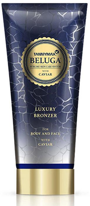 Tannymaxx Крем-ускоритель для загара Beluga Luxury Bronzer, с бронзатором двойного действия с экстрактом икры и инновационной формулой TMX Hydro Complex, 200 мл - Аксессуары и средства для солярия