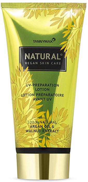 Tannymaxx Крем-ускоритель загара Natural (Vegan) Natural UV Preparation, с натуральными бронзаторами и аргановым маслом, 175 мл - Аксессуары и средства для солярия