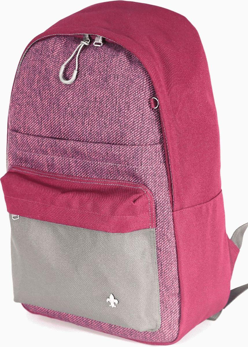 UFO People Рюкзак цвет бордовый 76897689Легкий молодежный рюкзак UFO People выполнен из нейлоновой ткани на основе PU. Рюкзак имеет плотную спинку.Изделие содержит одно основное вместительное отделение на застежке-молнии, передний кармашек для мелких предметов и внутренний кармашек для документов. Плотные лямки регулируемой длины имеют усиливающую отстрочку Антиразрыв.