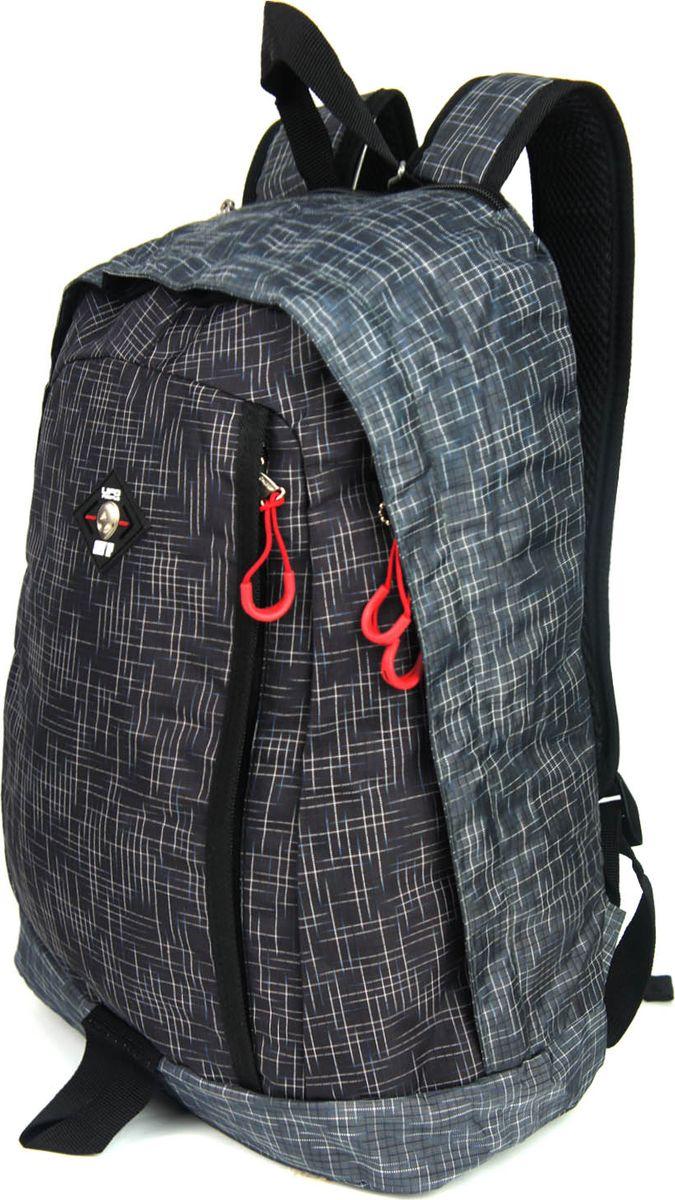 UFO People Рюкзак цвет серый 76907690Легкий молодежный рюкзак UFO People выполнен из нейлоновой ткани на основе PU. Рюкзак имеет плотную спинку.Изделие содержит одно основное вместительное отделение, передний кармашек для мелких предметов и внутренний карман для документов.Рюкзак оснащен плотными лямками регулируемой длины и текстильной ручкой для переноски в руках.