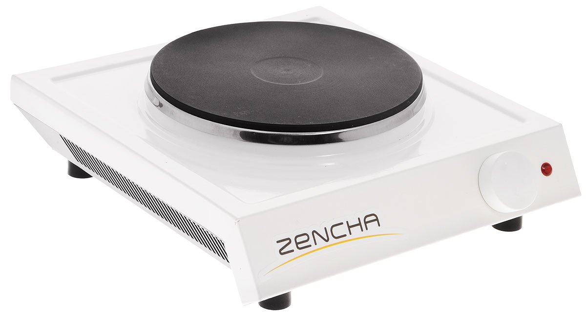 Пскова ЭПЧ 1-1,5/220 Zencha настольная плита, цвет белыйЭПЧ 1-1,5/220 ZENCHAПлитка электрическая Пскова ЭПЧ 1-1,5/220 Zencha– это компактное и легкое электрическое устройство для приготовления и подогрева пищи в самых разнообразных условиях, малогабаритных кухнях, квартирах, не подключенных к системе газоснабжения (новостройки), общежитиях, загородных домах и дачах.