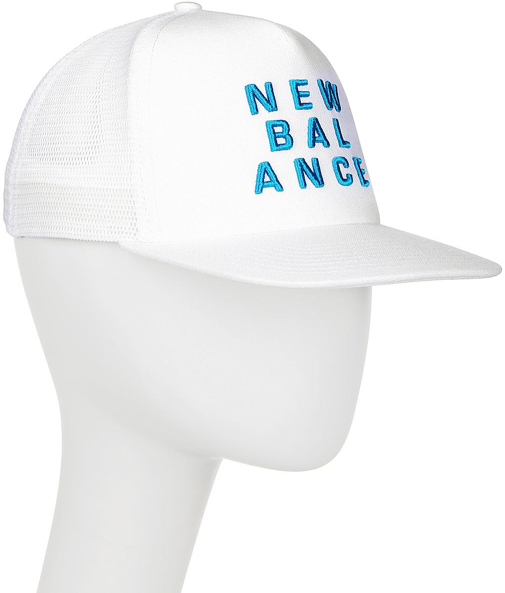 Бейсболка New Balance Foam Trucker, цвет: белый. 500135/WH. Размер универсальный бейсболка the north face mudder trucker hat цвет хаки бежевый t0cgw2scg размер универсальный