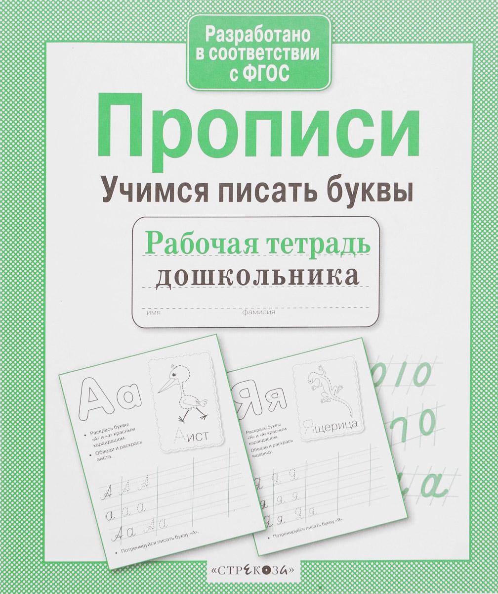 И. Попова Учимся писать буквы. Прописи ISBN: 978-5-9951-2959-2 анна горохова учимся писать буквы для детей 5 6 лет
