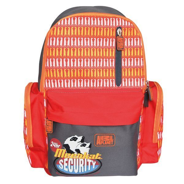 Action! Рюкзак Meenkat SecurityAP-AB11033/3Рюкзак Action! Meenkat Security имеет улучшенную спинку с выпуклыми рельефными вставками для комфортного ношения на спине.Изделие имеет одно основное отделение на молнии. На лицевой стороне находятся два кармана на молниях. На уплотненных регулируемых снизу лямках располагаются светоотражающие элементы, которые обеспечивают безопасность ребенка в темное время суток. Рюкзак имеет боковые карманы на молниях и текстильную ручку для переноски в руке.