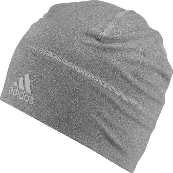 Шапка Adidas Clmlt B Fitted, цвет: серый. BQ9017. Размер 54/55BQ9017Шапка Adidas выполнена из полиэстера с добавлением эластана. Шапка выполнена вязкой мелкими петлями. Легкая шапка, которая эффективно отводит излишки влаги от кожи даже во время самых интенсивных тренировок. Эластичный материал обеспечивает плотно облегающую посадку. Модель можно носить как отдельно, так и с другими головными уборами. Изделие дополнено светоотражающими элементами.