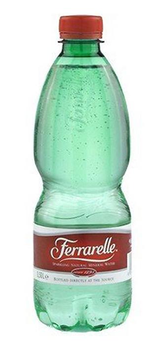 Ferrarelle вода минеральная, 0,5 лWFRL00-050P24Вода минеральная питьевая лечебно-столовая газированная Ferrarelle. Ferrarelle - уникальная минеральная вода с естественной природной газацией и непревзойденным вкусом. №1 газированная вода в Италии.