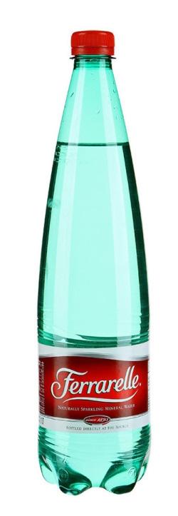 Ferrarelle вода минеральная, 1 л вода боржоми минеральная газированная 0 5л