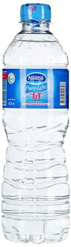 Nestle Pure Life вода негазированная, 0,5 л nestle молочко nestle nestogen 3 нестожен 700 г