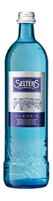 Selters вода минеральная газированная, 0,8 л стекло selters вода минеральная слабогазированная 1 л