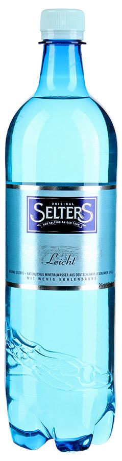 Selters вода минеральная слабогазированная, 1 л минеральная столовая вода hydra 0 5 л со вкусом грейпфрута
