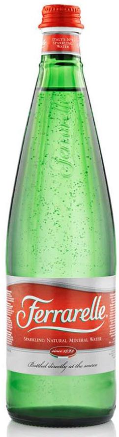 Ferrarelle вода минеральная, 0,75 л стекло минеральная столовая вода hydra 0 5 л со вкусом грейпфрута