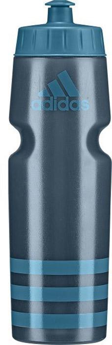 Спортивная бутылка Adidas Perf Bottl, цвет: синий, 750 мл. BR6776BR6776Употребление достаточного количества жидкости - важная часть спортивного режима. А благодаря бутылке Adidas Perf Bottl с удобным клапаном для питья можно утолить жажду, не отрываясь от тренировки. Данная модель подходит к большинству велосипедных холдеров, не содержит бисфенол А и ее можно мыть в посудомоечной машине.Модель украшена в верхней части контрастным логотипом adidas и тремя полосками в нижней части. .Объем: 750 мл.100%литой полиэтилен