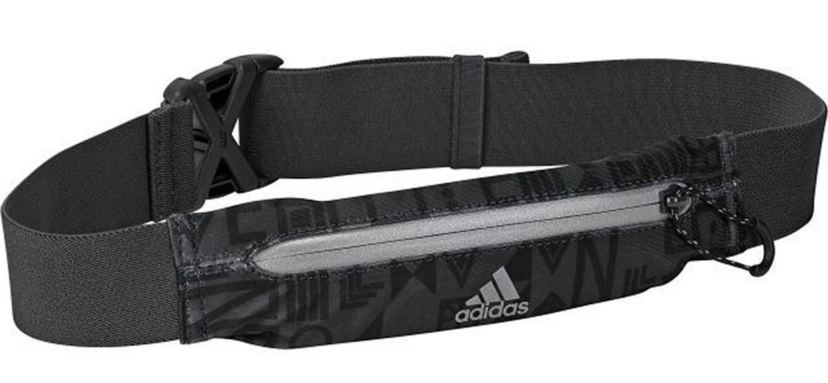 Сумка на пояс Adidas R G Belt, цвет: черный. BR7884BR7884Сумка Adidas R G Belt позволит взять с собой самые необходимые вещи и не испортит силуэт. Карман на молнии хорошо растягивается, а ремень регулируется по фигуре. Финальный штрих - светоотражающие детали: молния и логотип adidas. Карман на молнии.Регулируемый ремень с пряжкой.Эластичная ткань.Светоотражающие детали.Материал: 80% нейлон, 20% эластан.Размеры: 5,5 x 20 см.