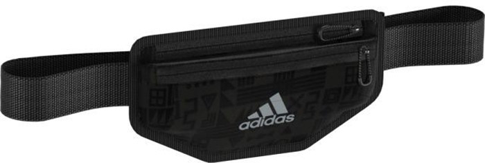 Сумка на пояс Adidas R G Waistbag, цвет: черный. BR7885BR7885Сумка на пояс Adidas R G Waistbagпозволит взять с собой только самые необходимые вещи. Оснащена двумя карманами на молнии. Модель украшена контрастным логотипом adidas.