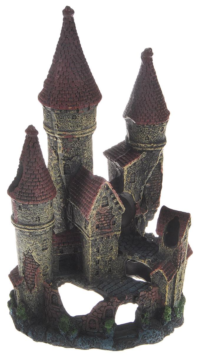 Декорация для аквариума Dezzie Замок. Сказка, 12 х 11 х 21 см nanibon кардиган