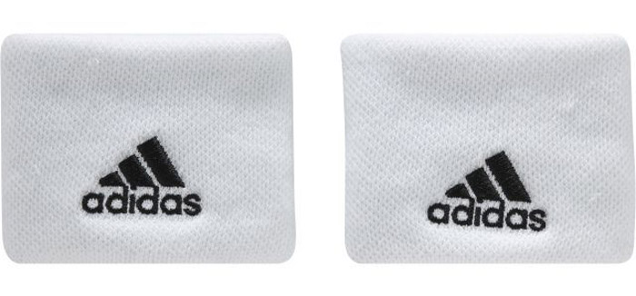 Напульсники Adidas Ten Wb, цвет: белый. S97837. Размер универсальныйS97837Сконцентрируйся только на мяче и подачах. Эти теннисные напульсники помогут ни на что не отвлекаться. Комфортный плотный материал хорошо впитывает влагу. Вышитые логотипы adidas дополняют спортивный образ.Ширина: 5 см; длина в сложенном состоянии: 8,5 см