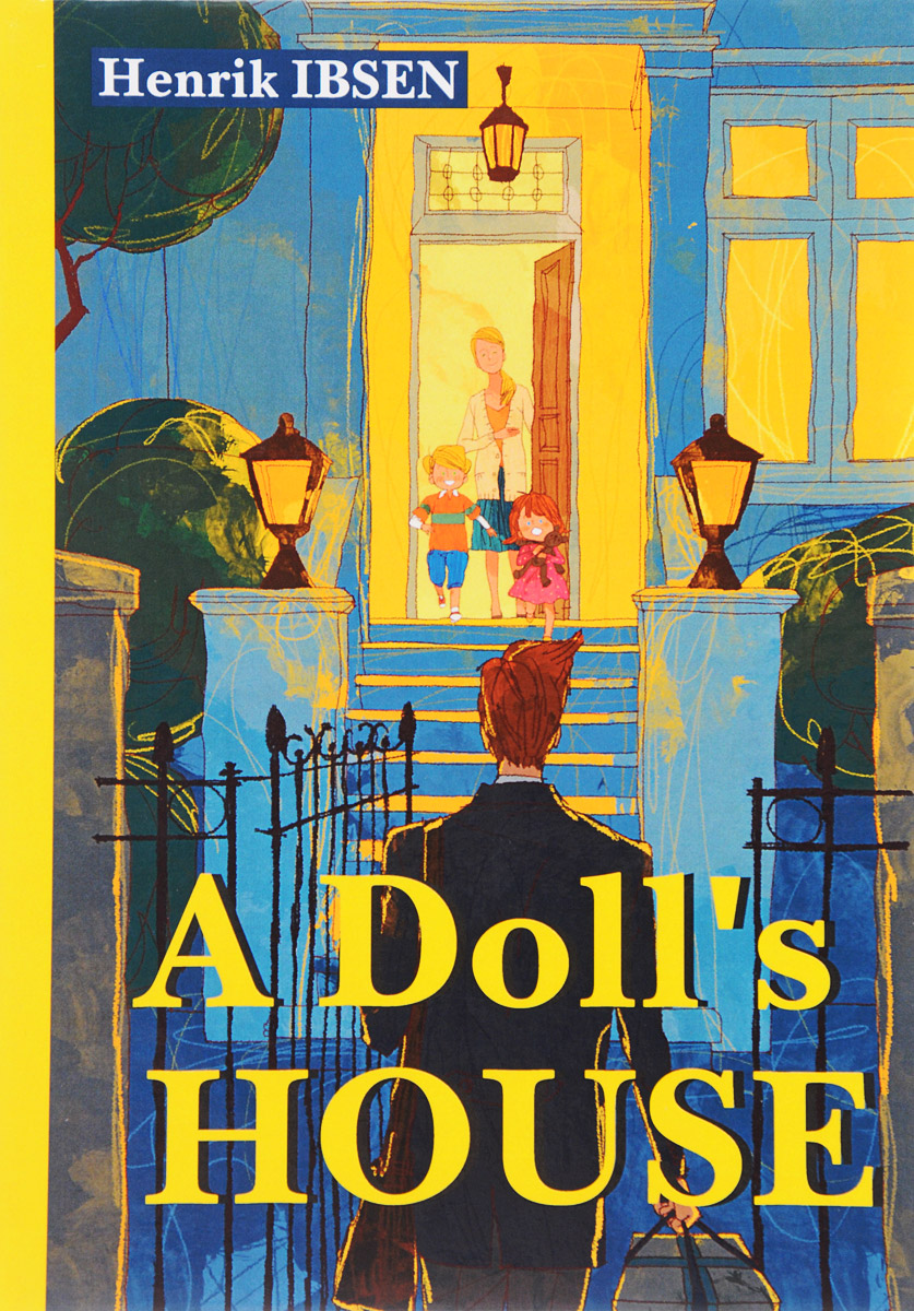 HEnrik Ibsen A Doll's House дом кукольный из дерева