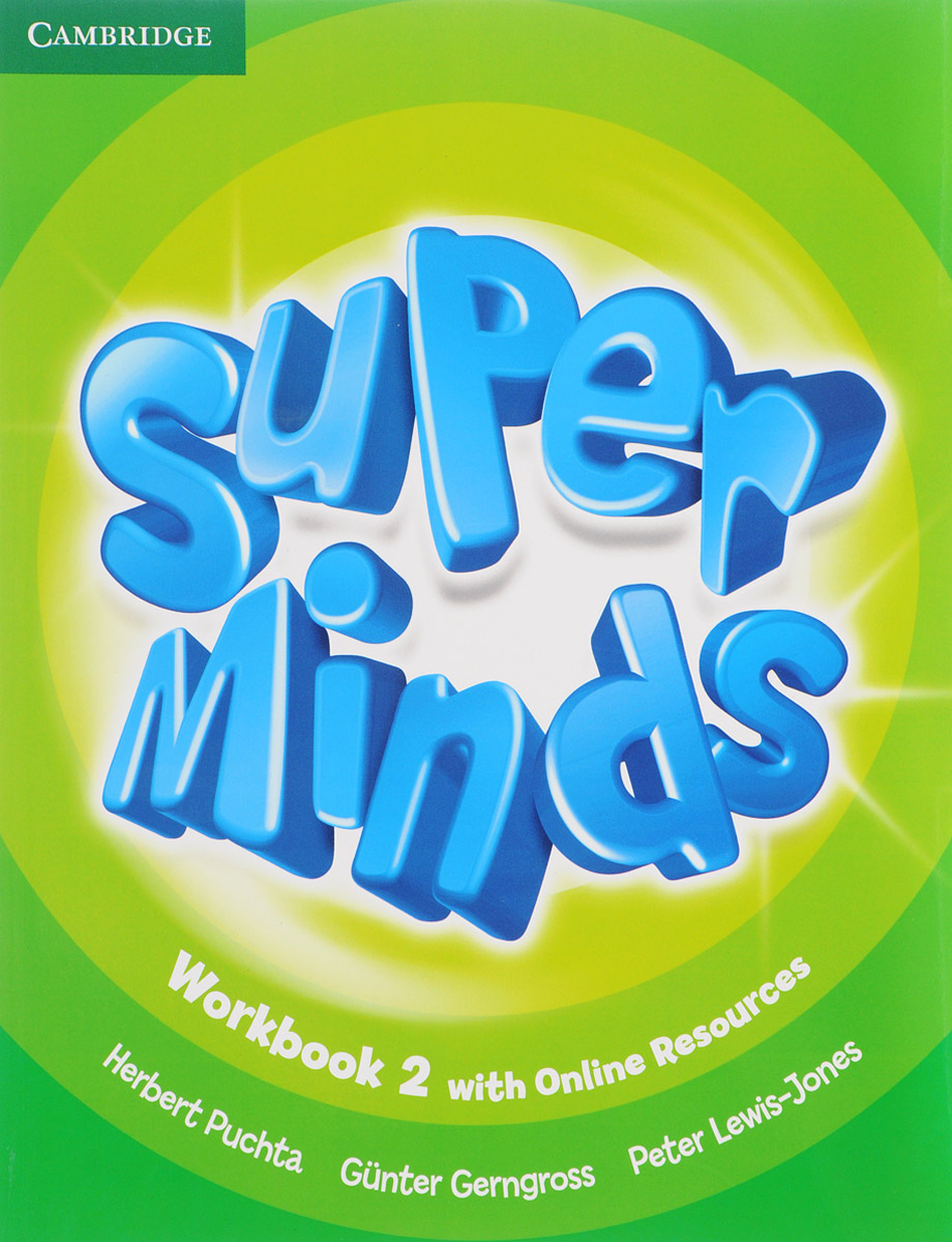 Super Minds Level 2: Workbook with Online Resources full page bookmark magnifier