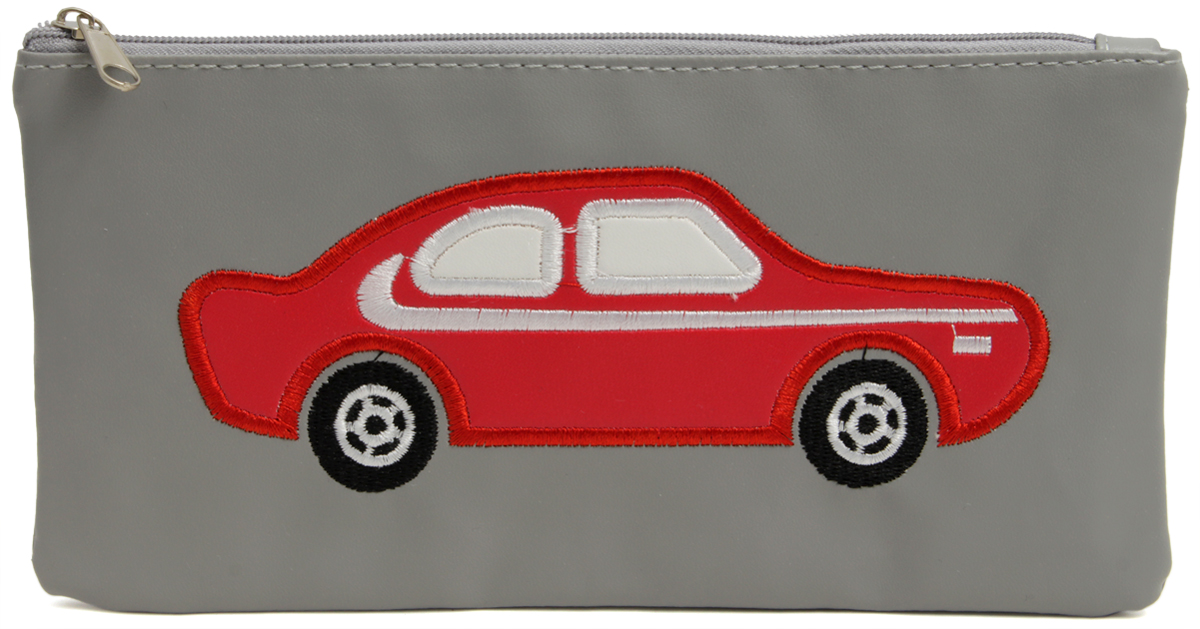 Феникс+ Пенал Красная машина40497Пенал школьный. Одно отделение на молнии.Материал: полиуретан.Размер: 21х11 см.