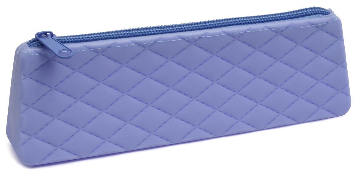 Феникс+ Пенал цвет голубой 4380443804Пенал школьный без наполнения выполнен из силикона и застегивается на застежку-молнию.