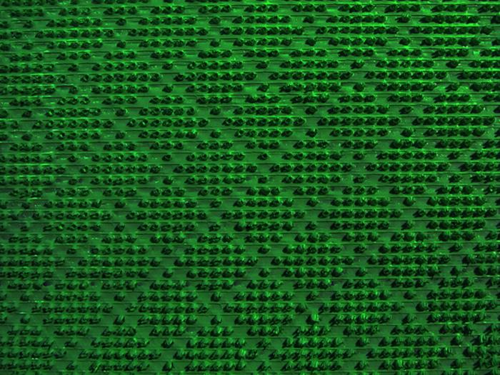 Щетинистое покрытие SunStep Ромб, цвет: зеленый, 0,90 х 15 м коврик домашний sunstep цвет синий 140 х 200 х 4 см
