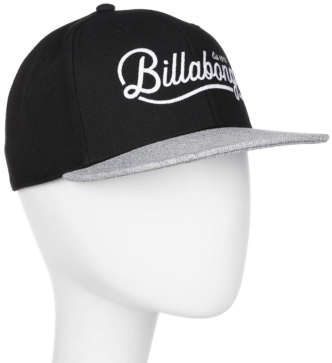 Бейсболка Billabong Varsity Fitted, цвет: черный, серый. 3607869368905. Размер M/L (54/57) демонстрационная доска rocada 6100 пробковая 40x60см сосновая рама